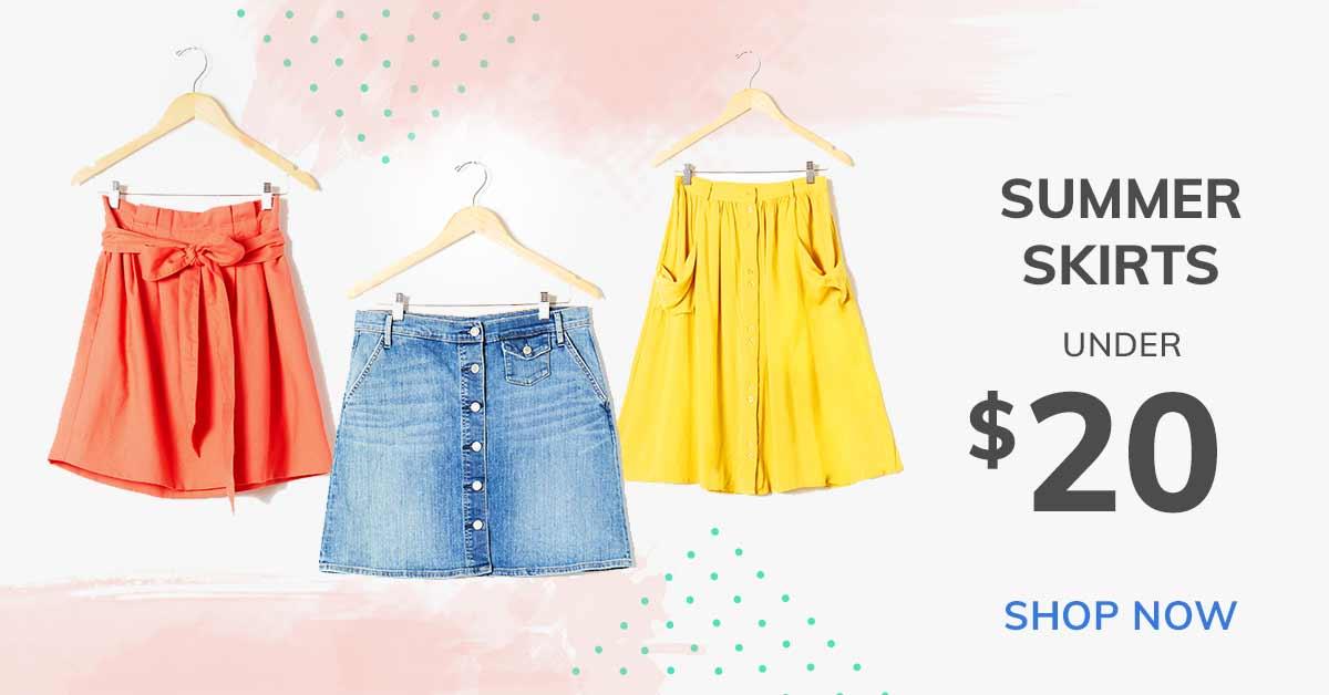 Summer Skirts Under $20