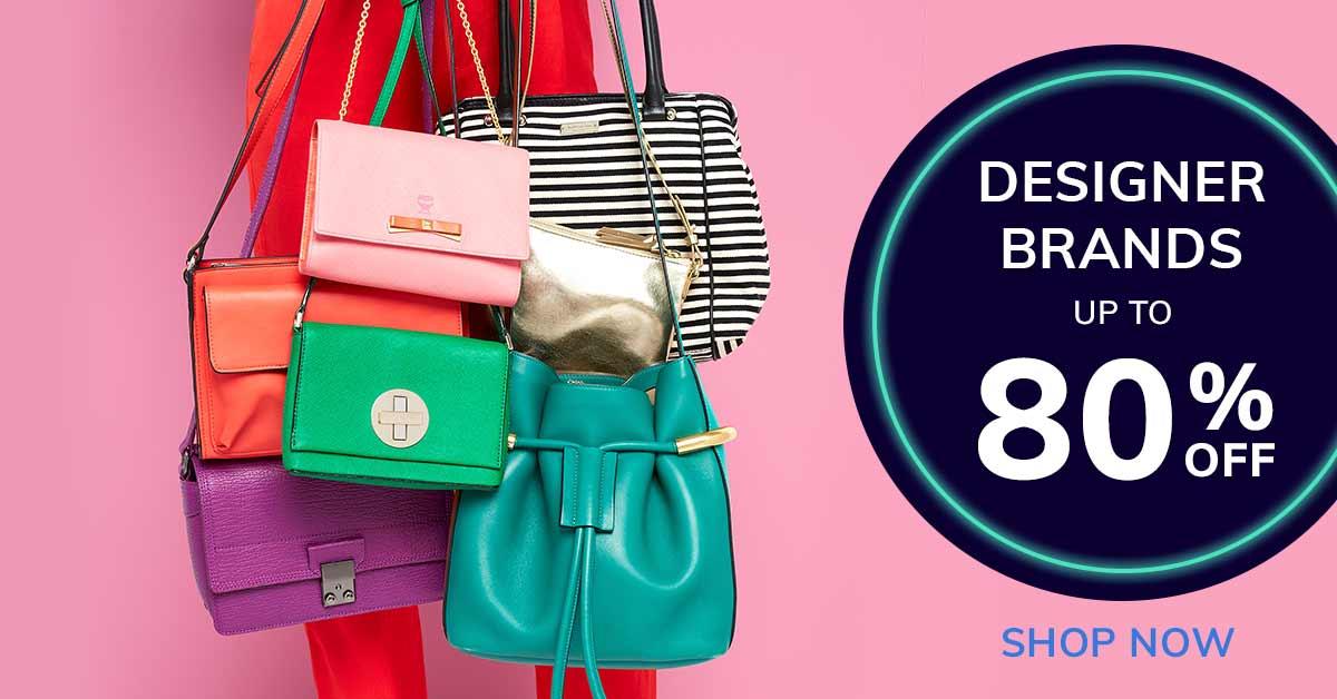 Up to 80% Off Designer Brands